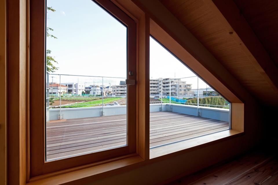 趣味満載・スキップフロアの和モダン住宅の写真2