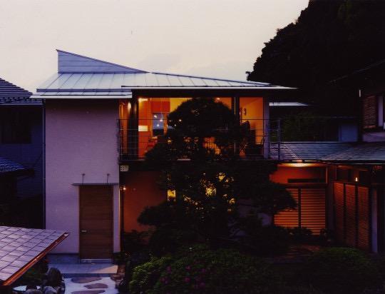 森を望む家の写真2