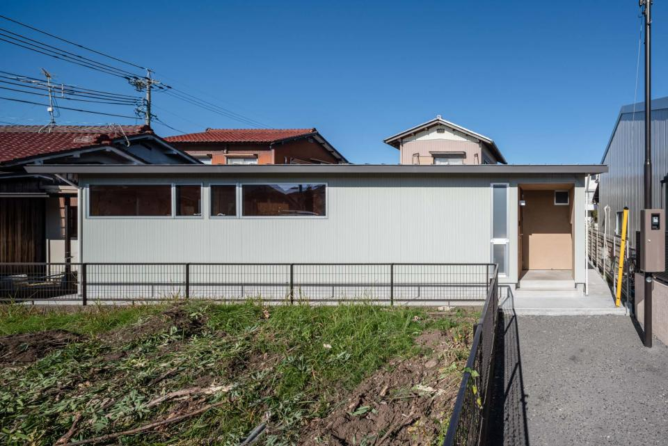 犬山 中庭のある家の写真0