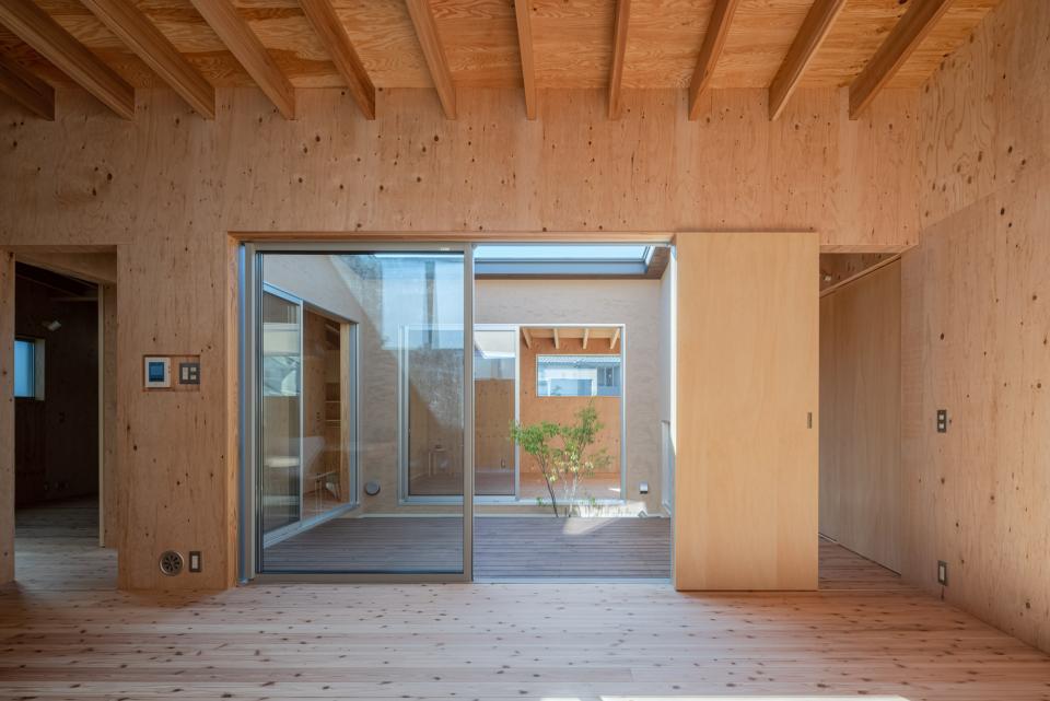 犬山 中庭のある家の写真3