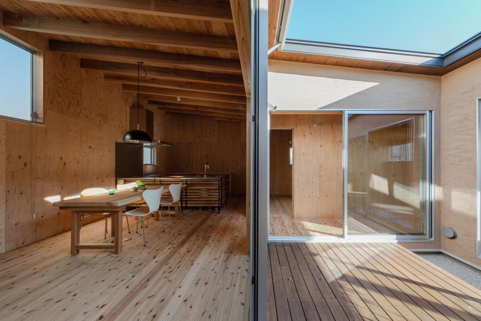 犬山 中庭のある家の写真4