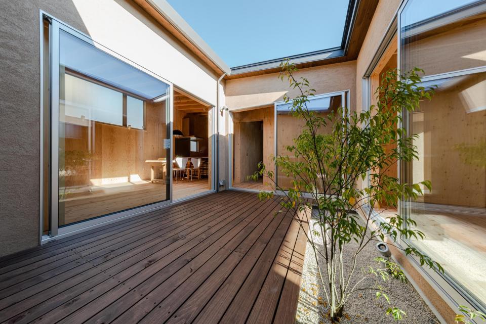 犬山 中庭のある家の写真8