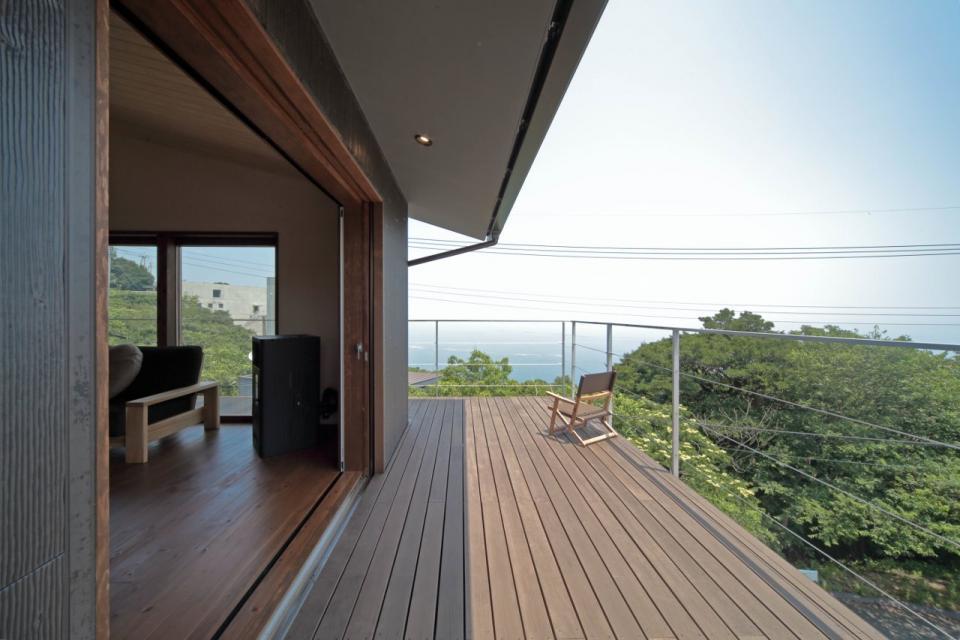 船上デッキからの景色が望める家の写真4
