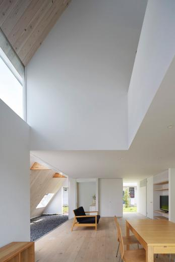 屋根裏部屋の家 house in utsunomiyaの写真3
