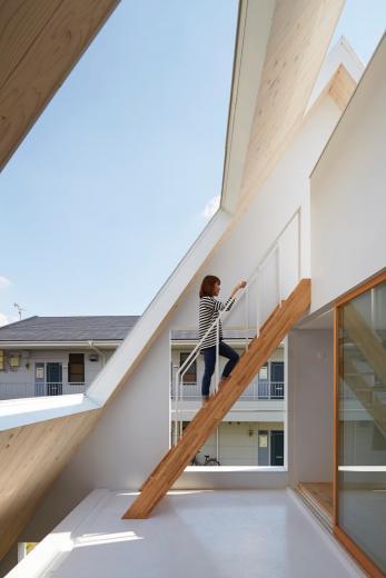 屋根裏部屋の家 house in utsunomiyaの写真7