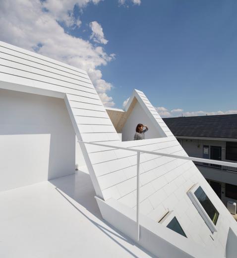 屋根裏部屋の家 house in utsunomiyaの写真8