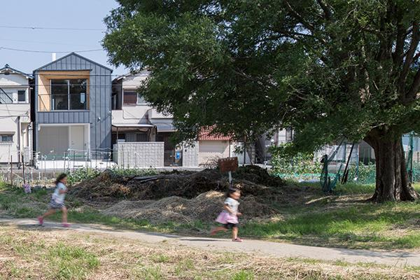 角錐窓の家の写真1
