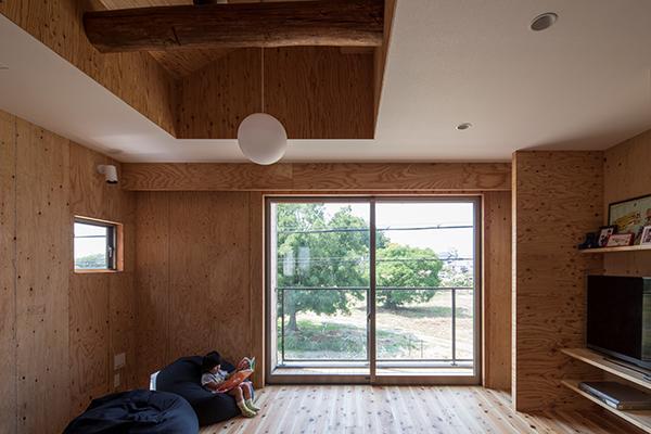 角錐窓の家の写真2