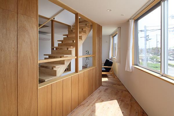 三層のフラットハウスの写真2