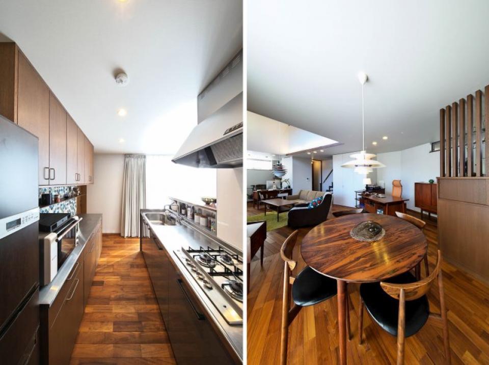 北欧雑貨と家具に囲まれた借景を生かす住まいの写真2