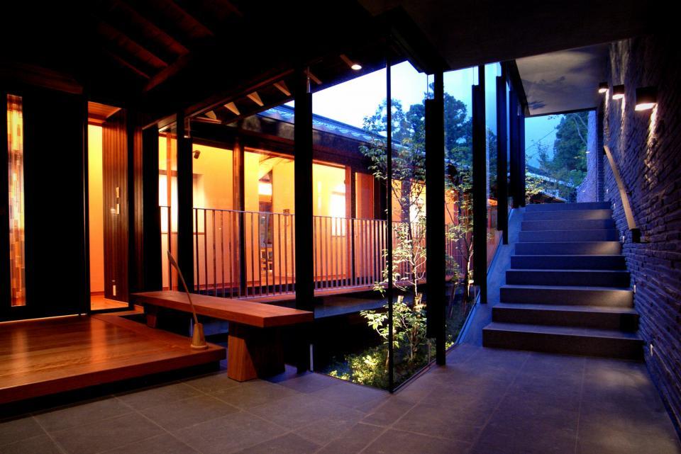 雷山の別荘 絶景を楽しめる和モダンの別荘の写真0