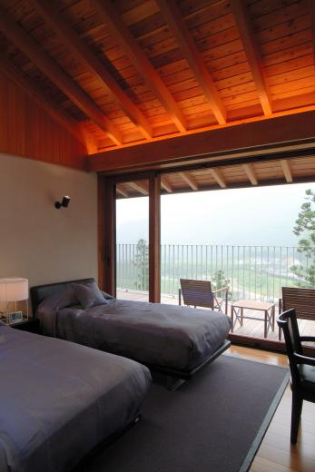 雷山の別荘 絶景を楽しめる和モダンの別荘の写真10