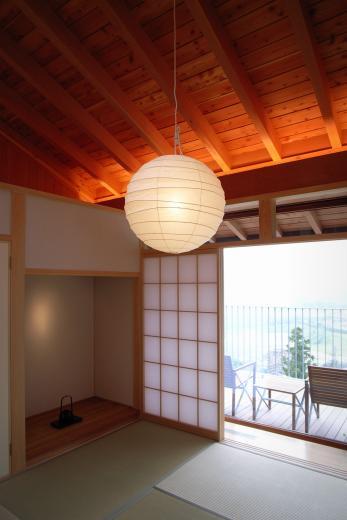 雷山の別荘 絶景を楽しめる和モダンの別荘の写真12
