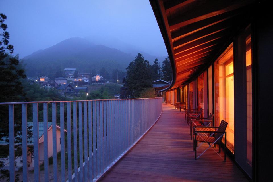 雷山の別荘 絶景を楽しめる和モダンの別荘の写真16