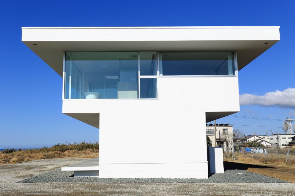 水平線の家 大海原の風景と暮らす家の写真6