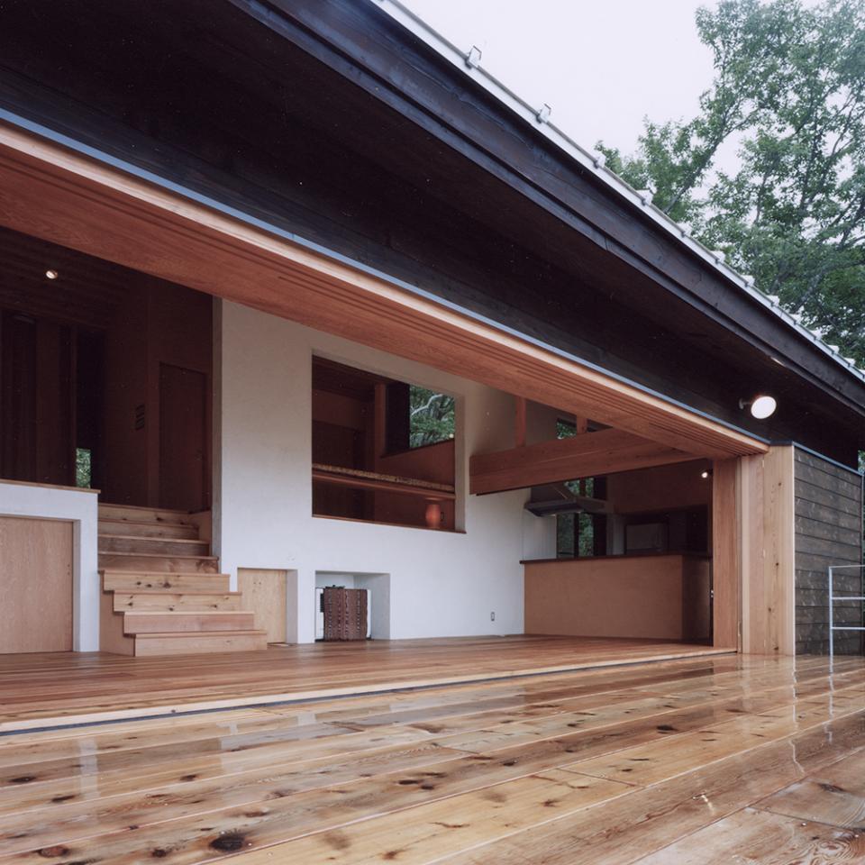 蓼科高原の家|大開口から八ヶ岳が一望できる週末住宅の写真9