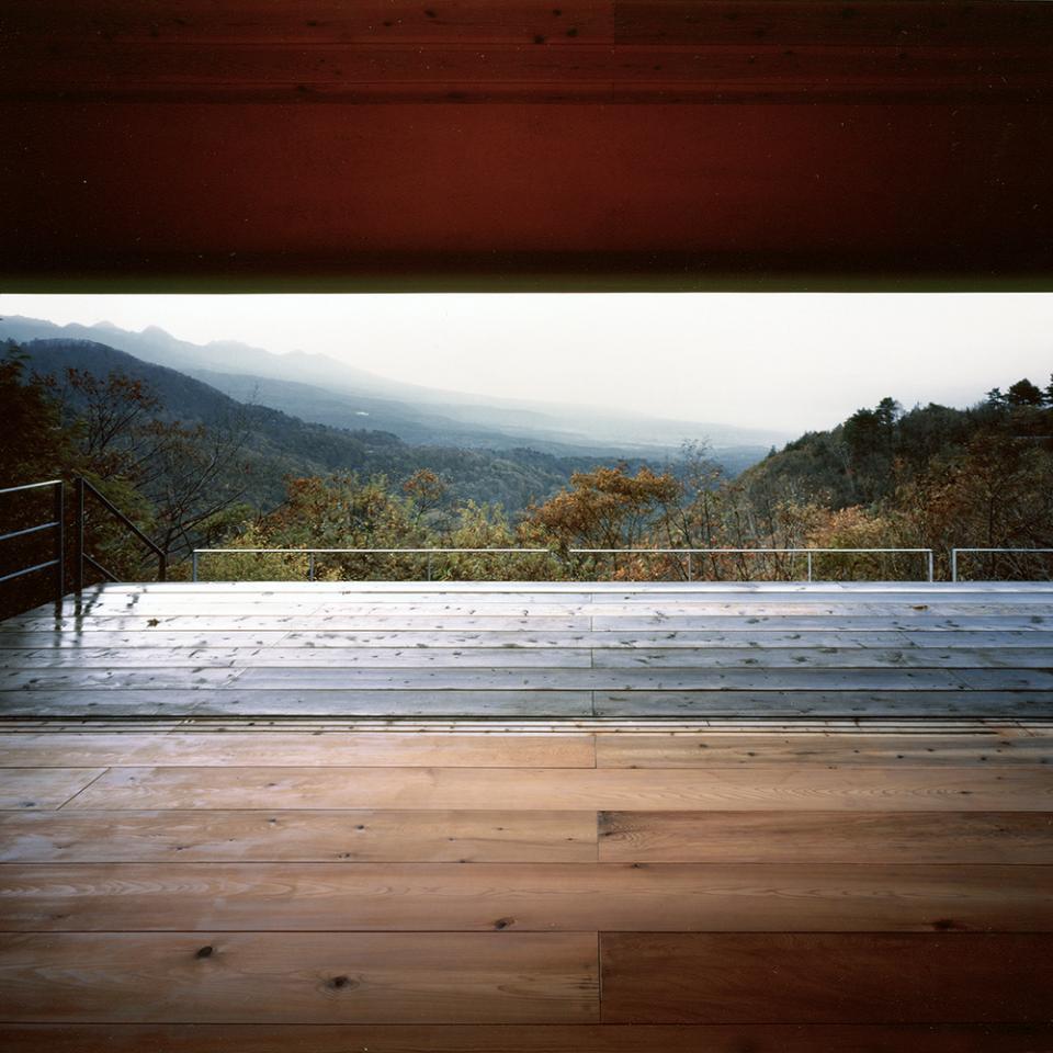 蓼科高原の家|大開口から八ヶ岳が一望できる週末住宅の写真1