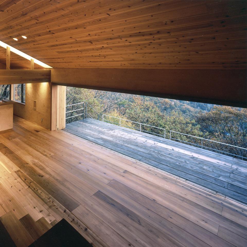 蓼科高原の家|大開口から八ヶ岳が一望できる週末住宅の写真2