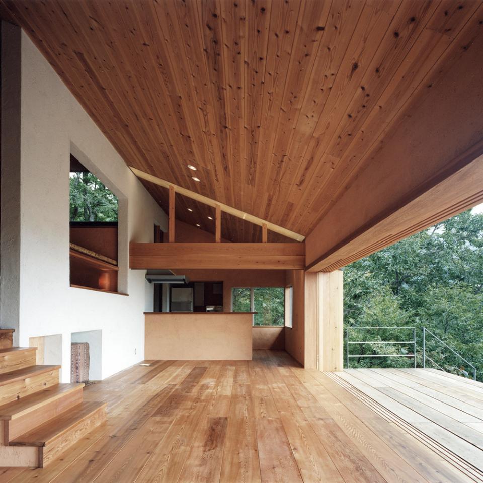 蓼科高原の家|大開口から八ヶ岳が一望できる週末住宅の写真4