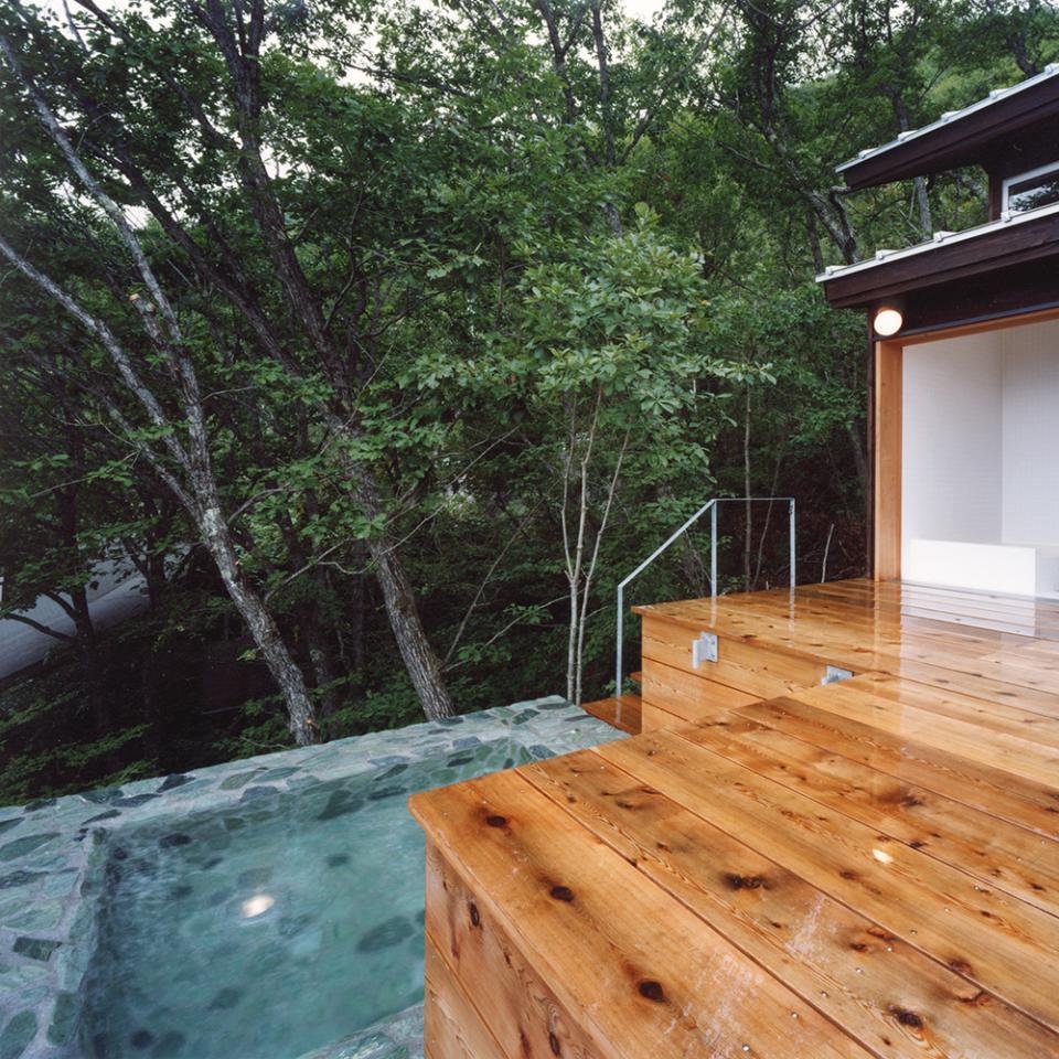 蓼科高原の家|大開口から八ヶ岳が一望できる週末住宅の写真6