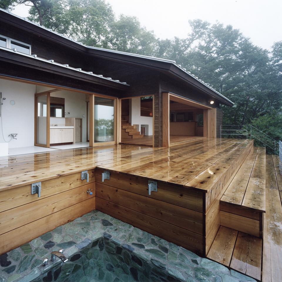 蓼科高原の家|大開口から八ヶ岳が一望できる週末住宅の写真7