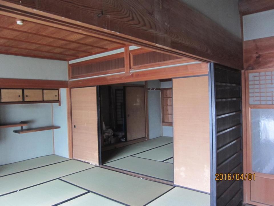奈良県 明日香村にある 築120年の古民家リフォームの写真2