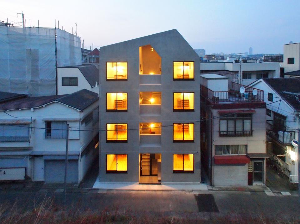 東京都北区の共同住宅の写真0
