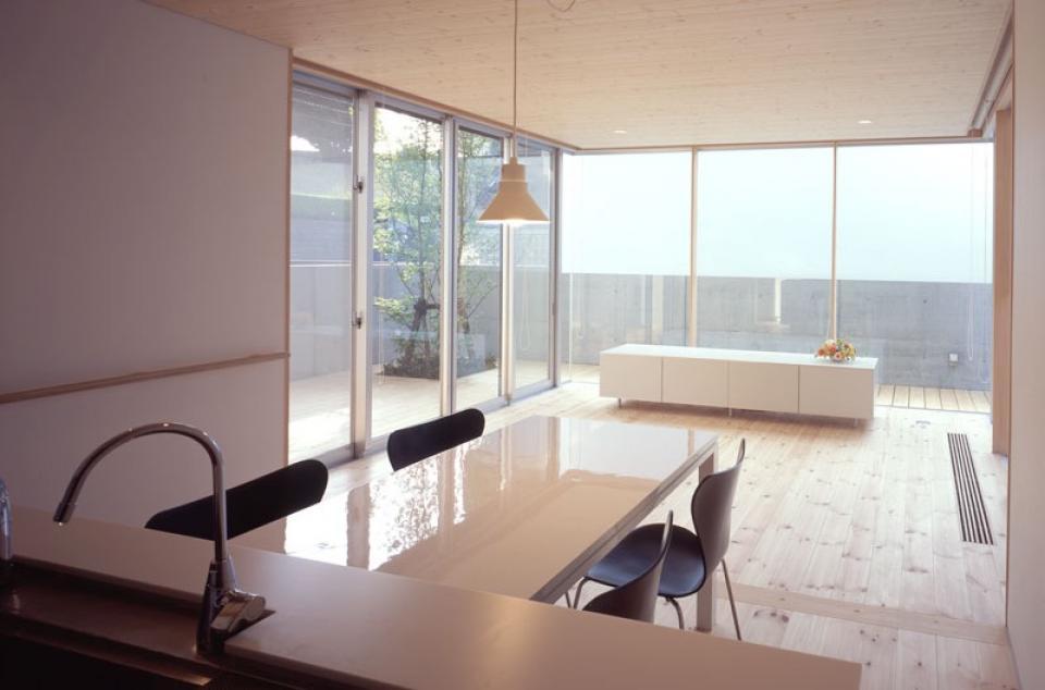 I-HOUSE RC造と木造の混構造 柔らかい光の空間 の写真9