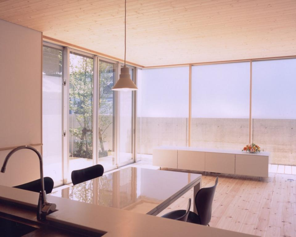 I-HOUSE RC造と木造の混構造 柔らかい光の空間 の写真10
