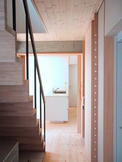 I-HOUSE RC造と木造の混構造 柔らかい光の空間 の写真5
