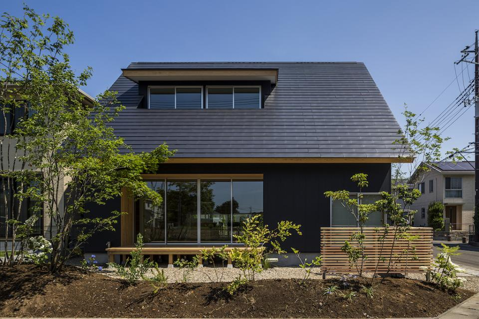 castor/単純な大屋根形状に普遍的な間取りを、立体的断面形状で組み込んでみる。の写真12