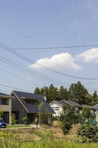 castor/単純な大屋根形状に普遍的な間取りを、立体的断面形状で組み込んでみる。の写真14
