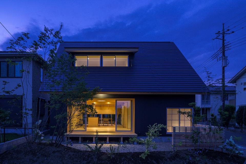 castor/単純な大屋根形状に普遍的な間取りを、立体的断面形状で組み込んでみる。の写真17