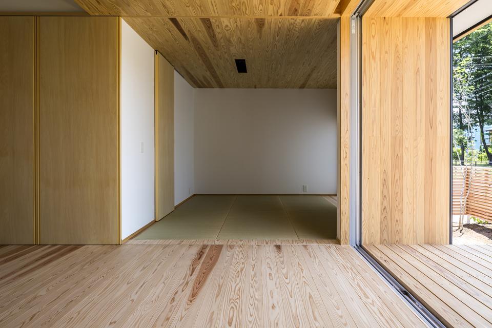 castor/単純な大屋根形状に普遍的な間取りを、立体的断面形状で組み込んでみる。の写真6