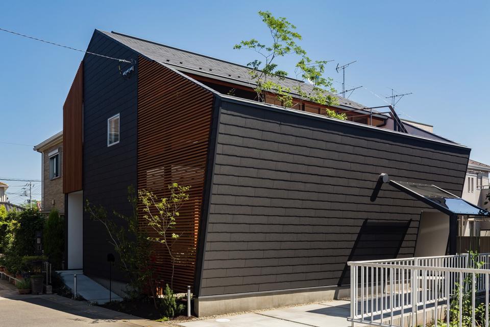 elnath/平面的、立体的な斜めの壁によって構成された空間を考えてみる。の写真10