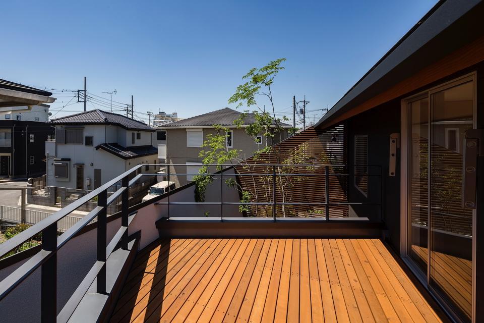 elnath/平面的、立体的な斜めの壁によって構成された空間を考えてみる。の写真11