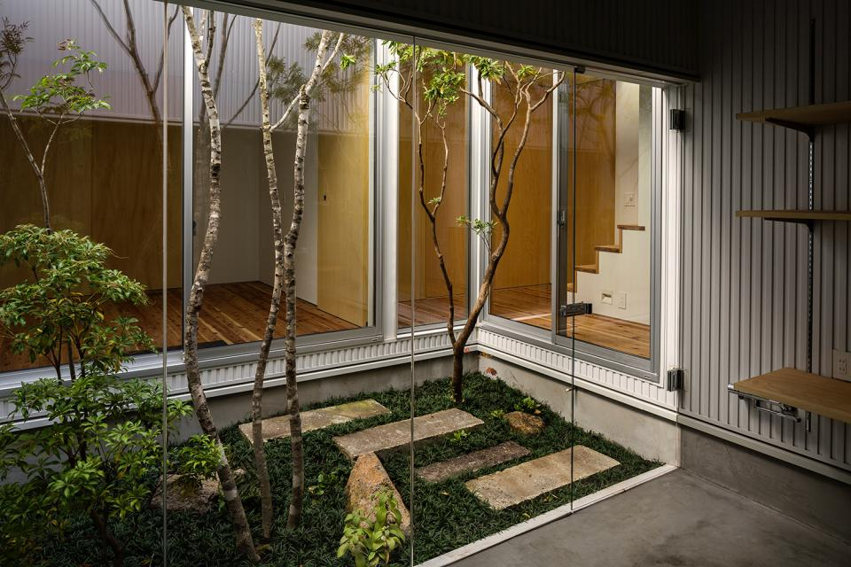 zubenelgenubi/囲われた2つの庭を立体的に多角的に眺められるかたちを考えてみる。の写真17