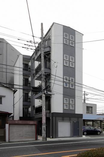 都心に建つワンルームマンション(収益物件)の写真0