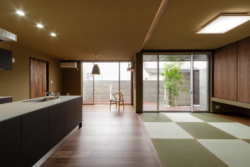 VERTICAL HOUSE (縦格子の家)の写真9