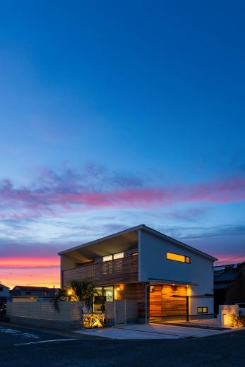 海が見える家の写真2
