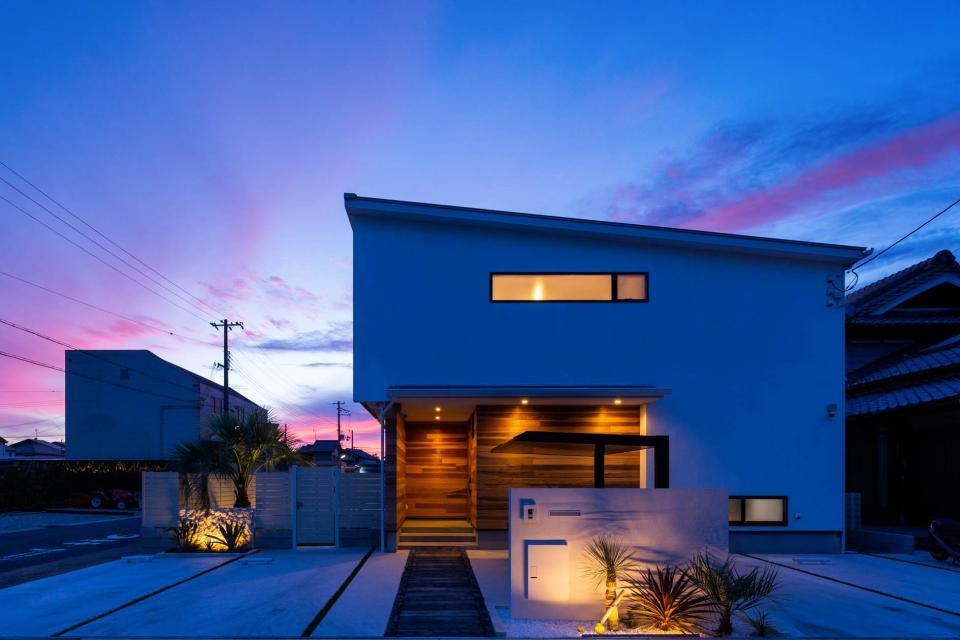 海が見える家の写真3