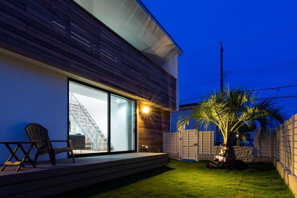 海が見える家の写真4