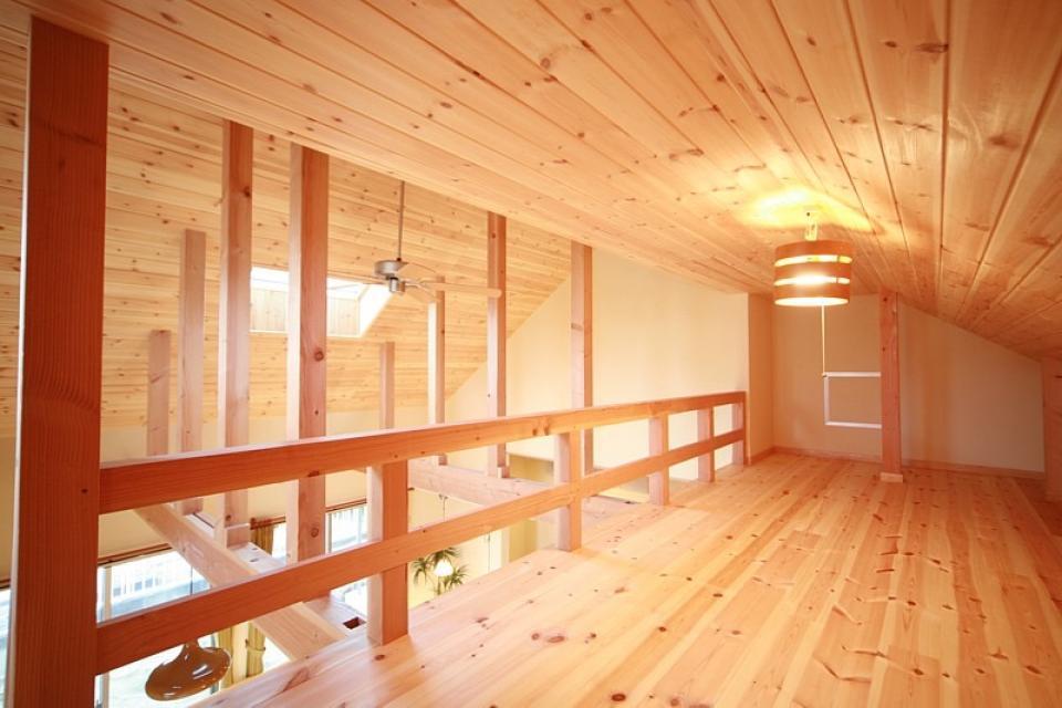 ロフト付き平屋建て住宅 ~天井高さ5.4Mの大空間リビング~の写真10