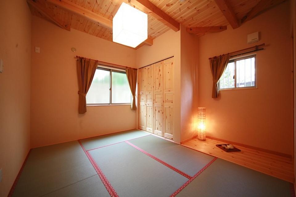 ロフト付き平屋建て住宅 ~天井高さ5.4Mの大空間リビング~の写真7