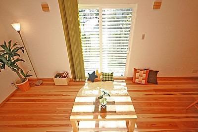 桜の遊歩道を借景に、生活しやすい動線の和モダンの家の写真8