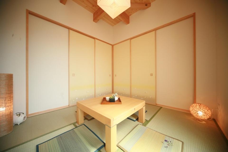 古き良き田の字型間取りの家の写真3