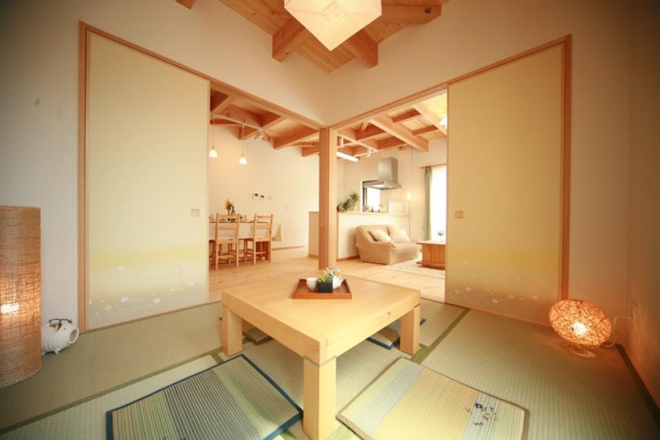 古き良き田の字型間取りの家の写真4