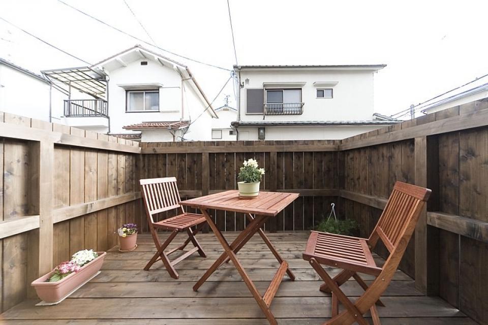 女の子が憧れるマイホーム ~ウッドデッキのある新和風スタイルの住まい~の写真2