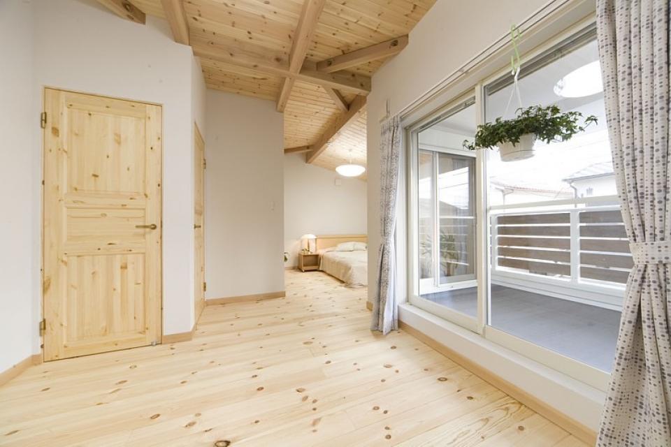 女の子が憧れるマイホーム ~ウッドデッキのある新和風スタイルの住まい~の写真4