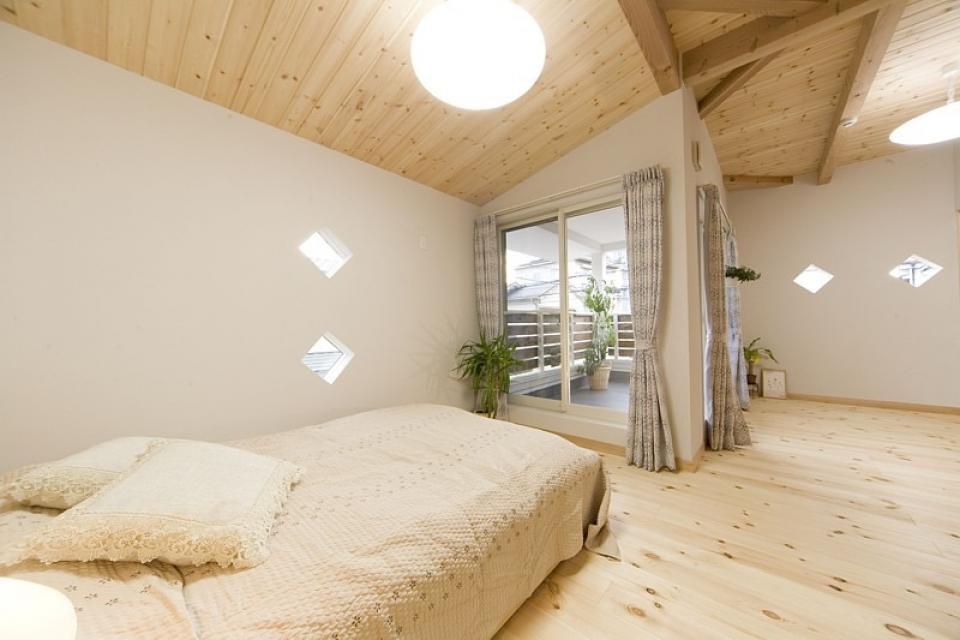 女の子が憧れるマイホーム ~ウッドデッキのある新和風スタイルの住まい~の写真5